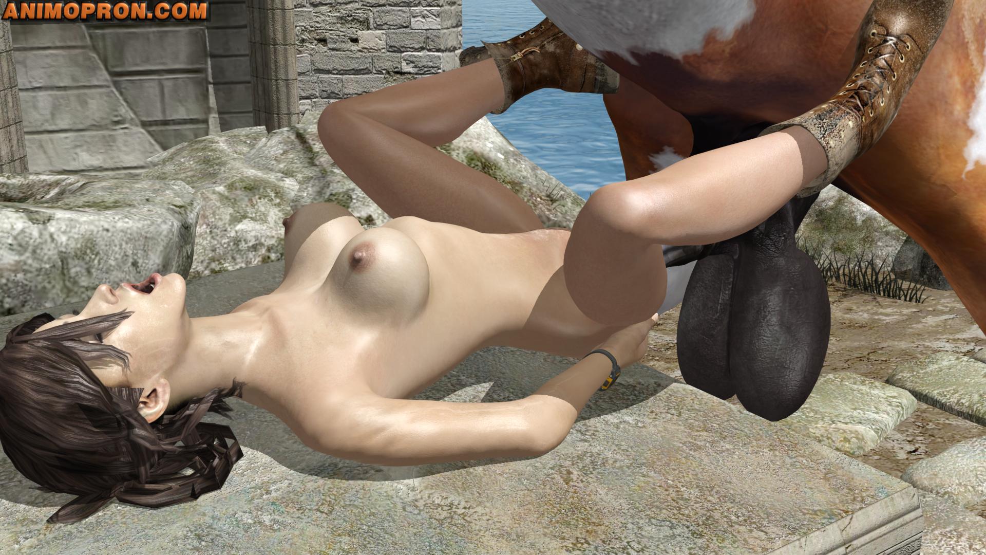 Порно Топ Лара И Конь